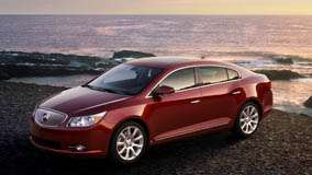 2010 Buick LaCrosse CXS In Red Near Sea Side